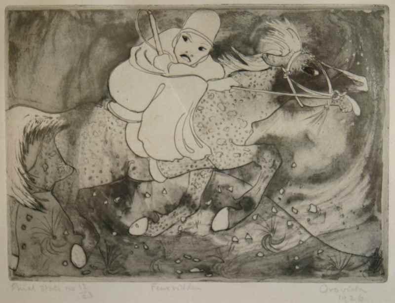 Fear Ridden - Orovida Pissarro (1893 - 1968)