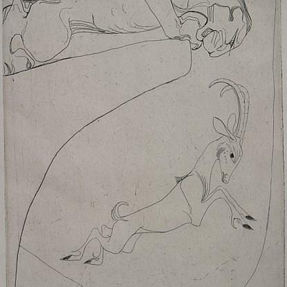 Curves - Orovida Pissarro (1893 - 1968)