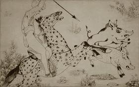 Orovida Pissarro - Pig Sticking