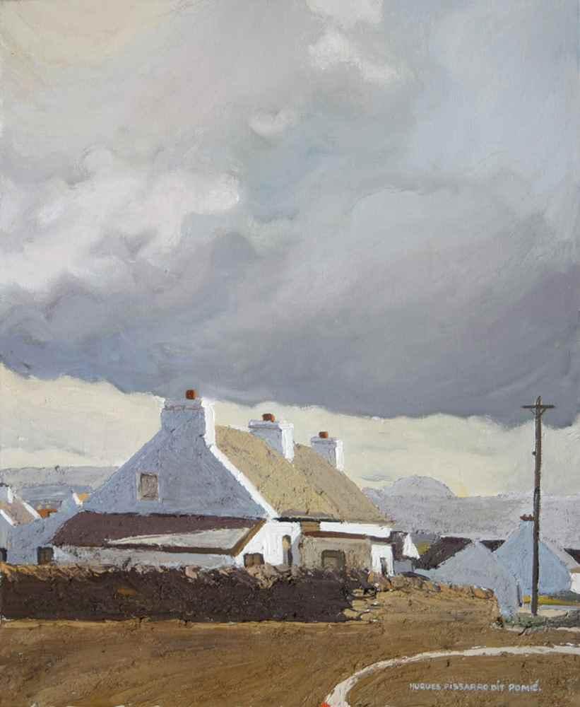 Maghery - Hugues dit Pomié Pissarro (b. 1935 - )