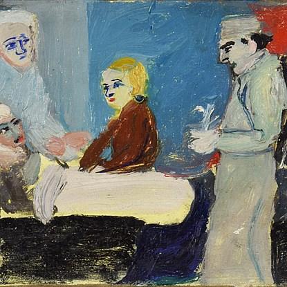 La Malade - André Lanskoy (1902 - 1976)