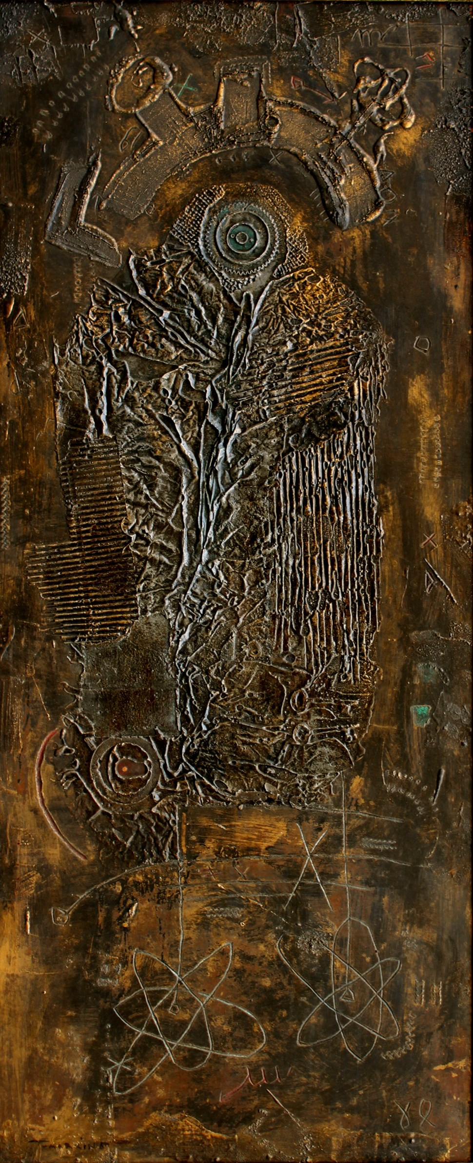 Untitled 65 - Igael Tumarkin (b. 1933 - )