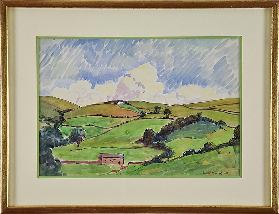 Paysage - Ludovic-Rodo Pissarro (1878 - 1952)