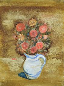 Jankel Adler - Flower Still Life