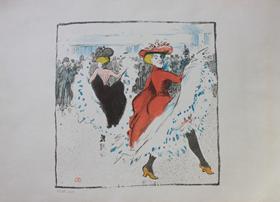 Ludovic-Rodo Pissarro - Cancan Dancers