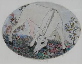 Orovida Pissarro - The Calf