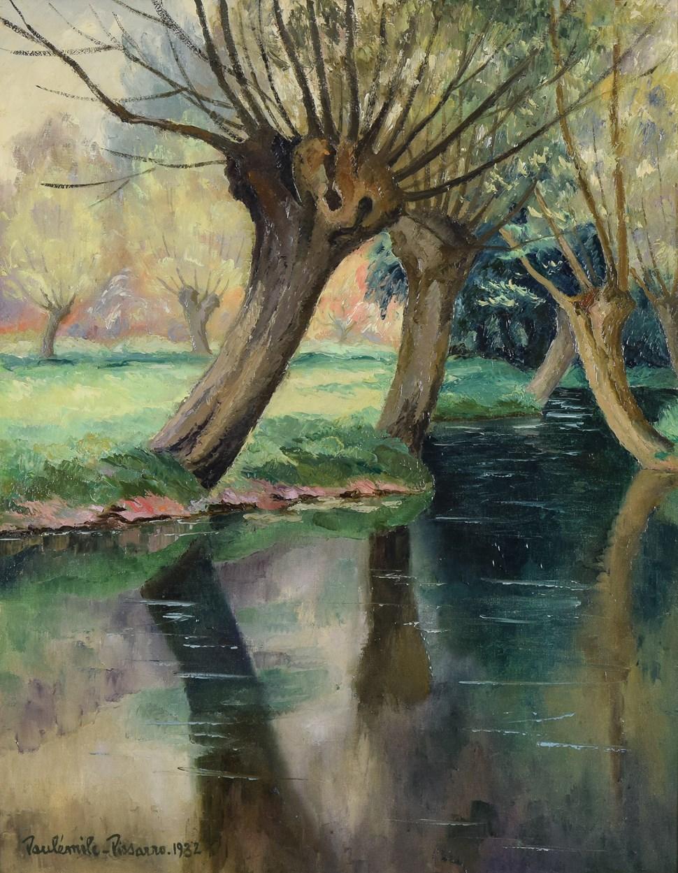La Rivière - Paulémile Pissarro (1884 - 1972)