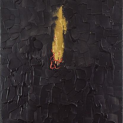 Burning Desire - Lélia Pissarro, Contemporary (b. 1963 - )