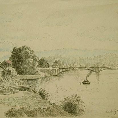 Issy, France - Georges Manzana Pissarro (1871 - 1961)