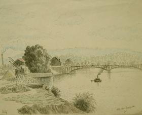 Georges Manzana Pissarro - Issy, France