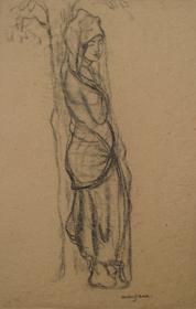Georges Manzana Pissarro - Jeune Femme Orientale
