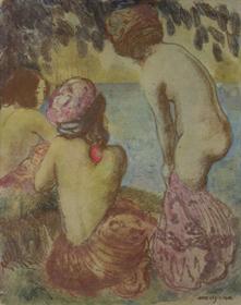 Georges Manzana Pissarro - Les Baigneuses