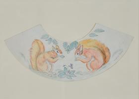 Georges Manzana Pissarro - Decorative Squirrel Design