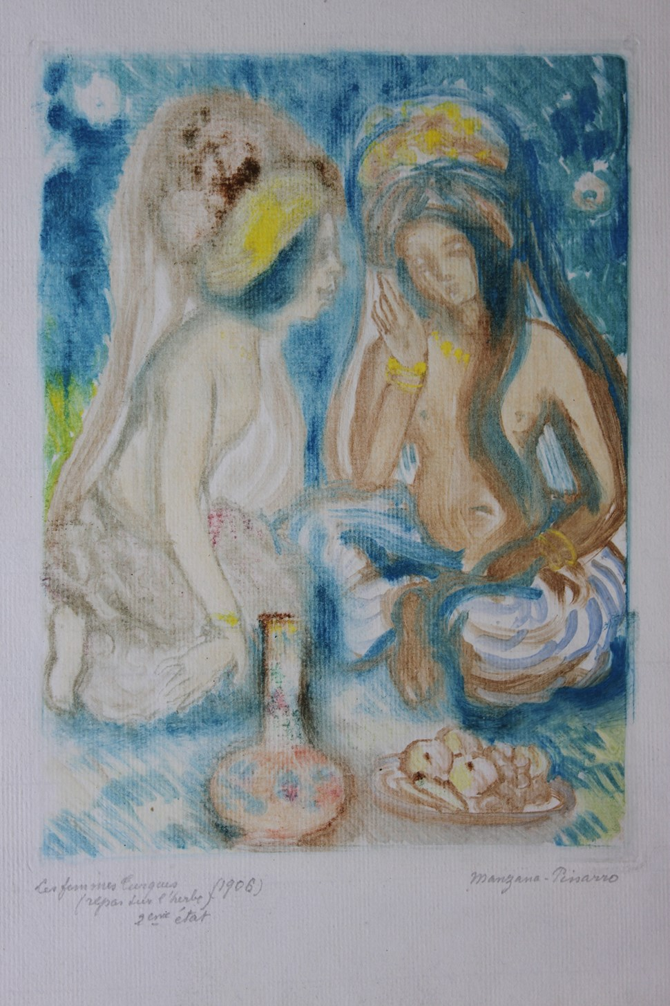 Les Femmes Turques (Repos sur l'Herbe) - Georges Manzana Pissarro (1871 - 1961)