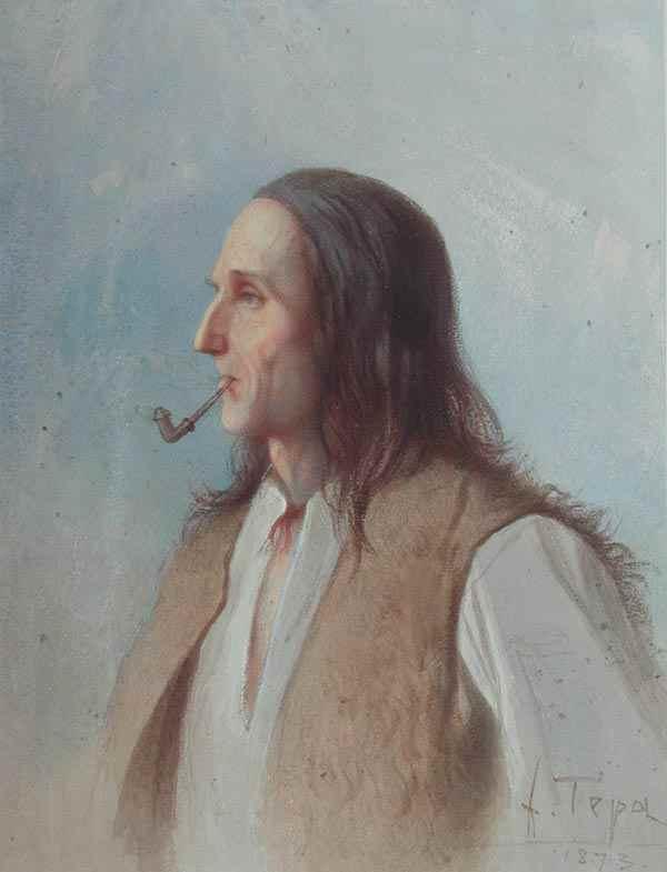 Montagnard des Environs de Szczaronica - Franciszek Tepa (1829 - 1889)