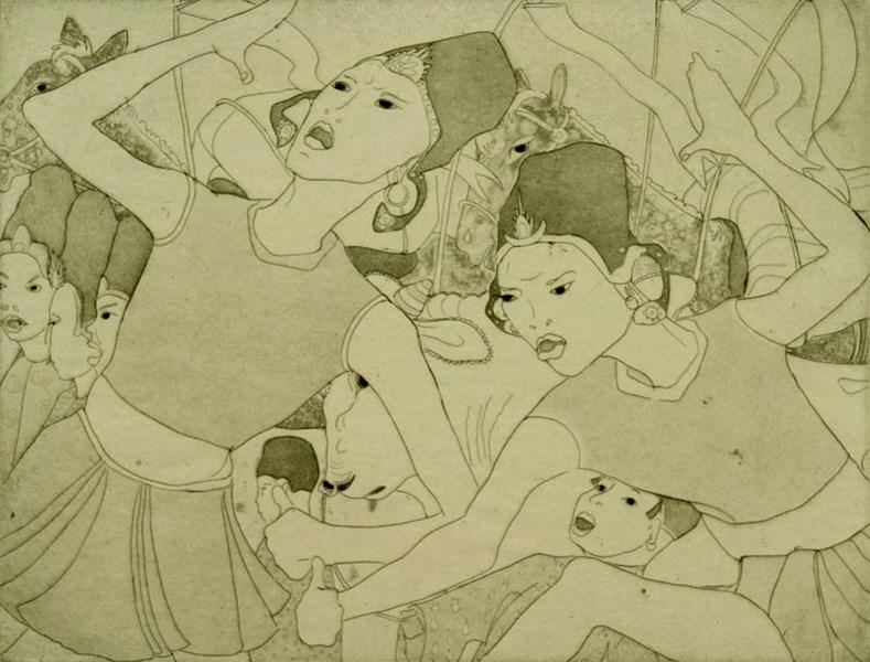 Ceremonial Dance - Orovida Pissarro (1893 - 1968)