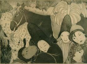 Orovida Pissarro - The Nomads