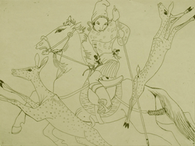 Orovida Pissarro - The Hunting Prince