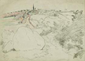 Lucien Pissarro - Paysage
