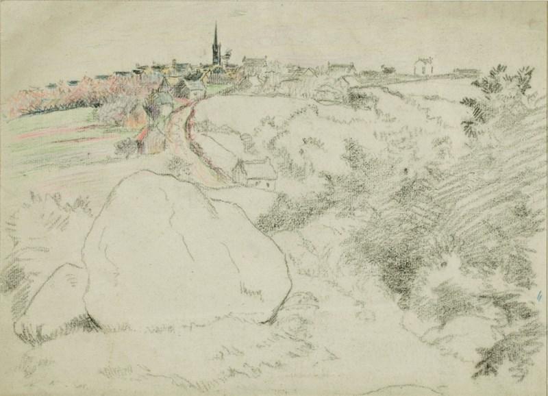 Paysage - Lucien Pissarro (1863 - 1944)