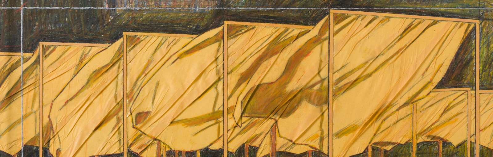 CHRISTO (1935 - 2020) - The Gates (Project for Central Park, New York City)