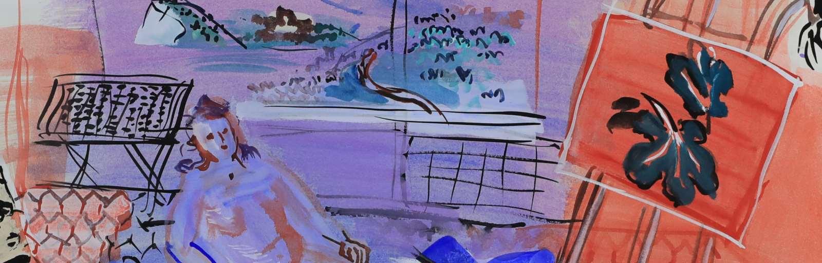 RAOUL DUFY (1877 - 1953)  - L'Atelier à Vence