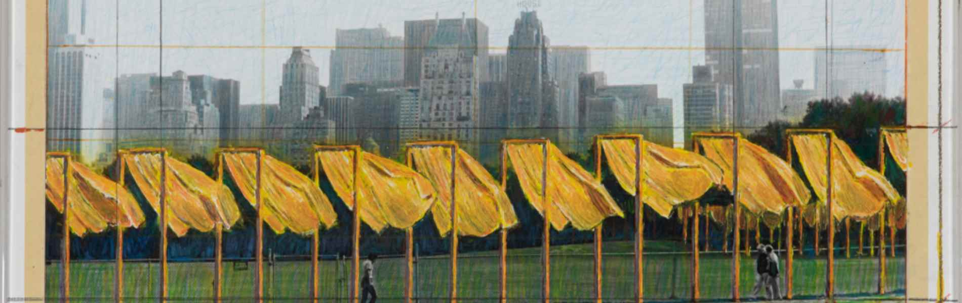 CHRISTO (1935 - 2020)<br><br>The Gates, Project for Central Park, New York City<br>