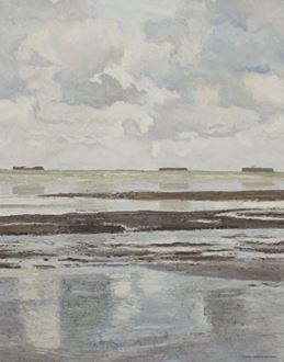 HuguesPissarro dit Pomié - Petite Marine Grise