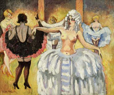 Ludovic-RodoPissarro - Cabaret Dancers