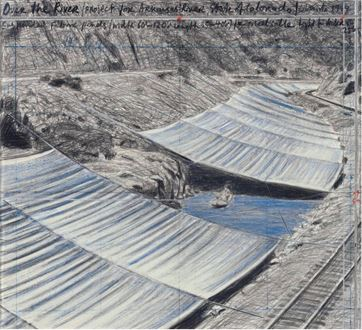 Christo - Over the River (Project for Arkansas River State of Colorado)