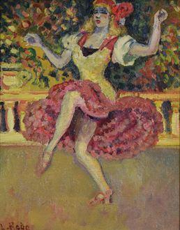 Ludovic-RodoPissarro - Danseuse au Tabarin
