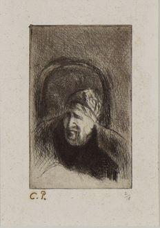 CamillePissarro - Grand'mère dans son Fauteuil (La Mère de l'Artiste)