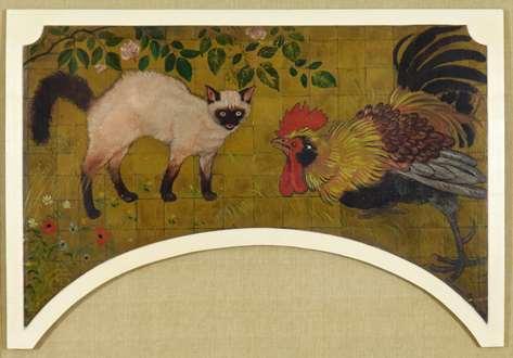 Georges ManzanaPissarro - Cat and Cockerel