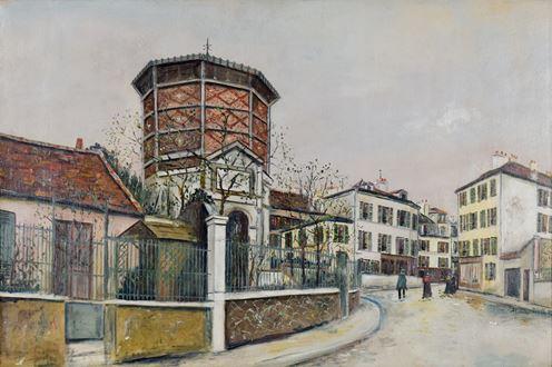 MauriceUtrillo - Place Jean-Baptiste-Clément