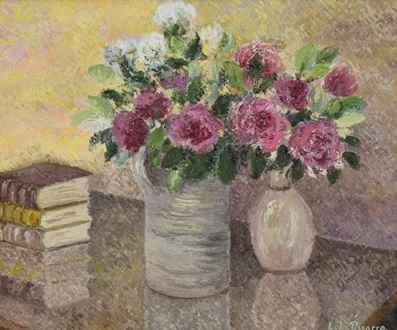 LéliaPissarro, Figurative - Le Bouquet de Toukie