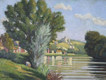 Ludovic-RodoPissarro - Chateau Gaillard, les Andelys