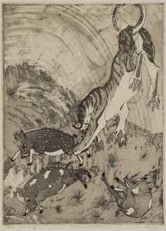 OrovidaPissarro - Peccarys and Tiger Pranks
