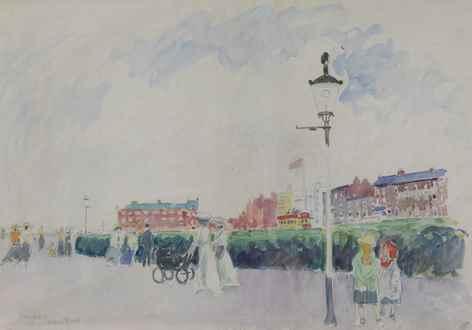 Ludovic-RodoPissarro - The Promenade, Margate