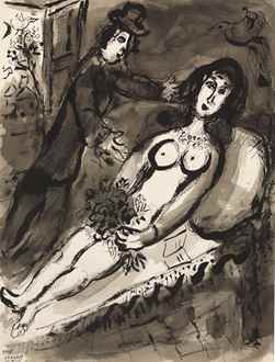 MarcChagall - L'Offrande
