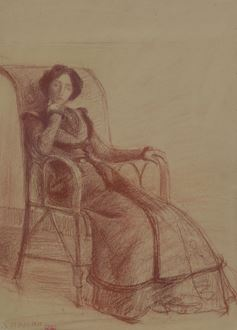HippolytePetitjean - Madame Petitjean Assise, 19 mai 1901