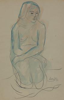 LeonUnderwood - Kneeling Nude