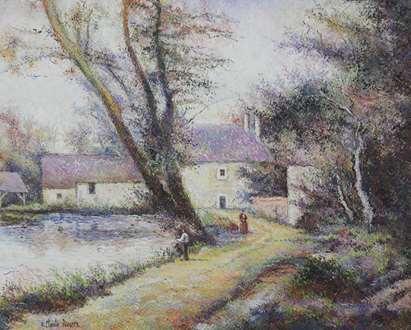 H. ClaudePissarro - L'Orme du Moulin