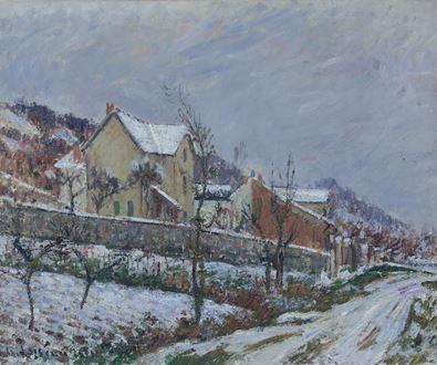 GustaveLoiseau - Le Neige en 1911