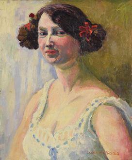 Ludovic-RodoPissarro - Portrait of a Woman