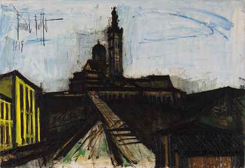 Bernard Buffet - Marseille, Notre Dame de la Garde