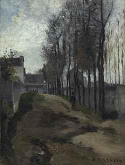 CamillePissarro - Le Chemin, Paysage Hivernal