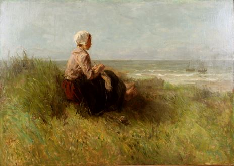 JozefIsraëls - Waiting
