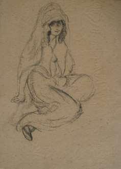 Georges ManzanaPissarro - Oriental Woman