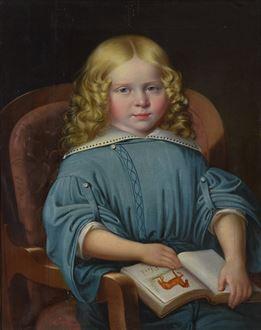 MartinJablonski - Portrait of a Boy with Book