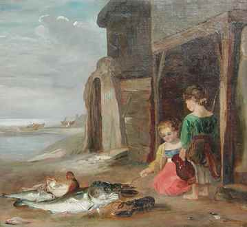 WilliamCollins (Attributed to) - After the Catch